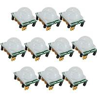 TOOGOO(R) 10pcs Adjust IR Pyroelectric Infrared PIR Motion Human Sensor Detector Module