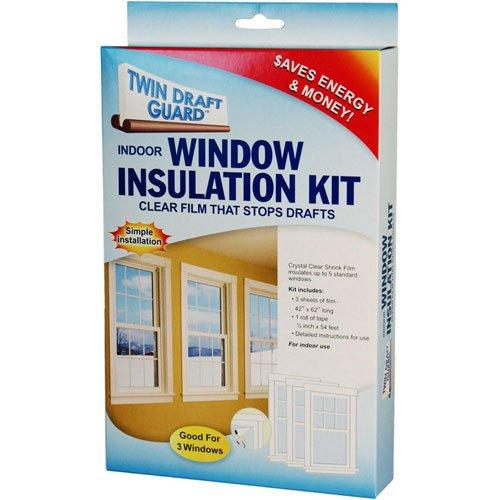 SKB family Twin Draft Guard Window Insulation Kit, 62'' x 0.25'' x 3 lbs