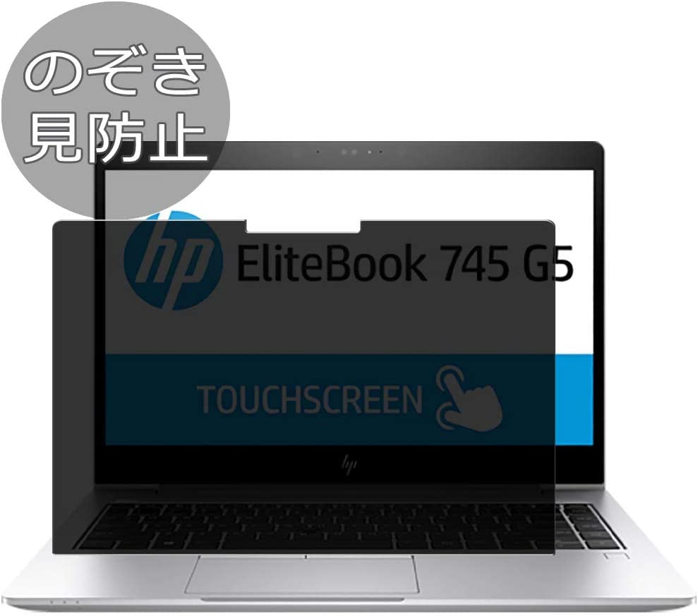 "Synvy Privacy Screen Protector Film for HP EliteBook 745 G5 14"" Anti Spy Protective Protectors [Not Tempered Glass]"