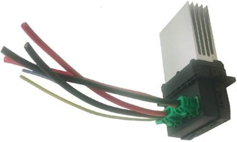 Motor de soplado resistencias, resistencia del ventilador del ventilador de calefacción, resistencia del ventilador con arnés de cables 6441L2