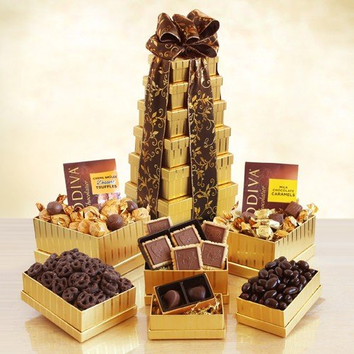 Height of Indulgence Godiva Gift Tower ()