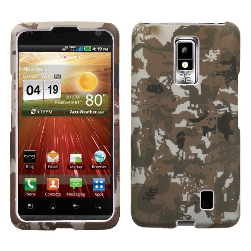 MYBAT LGVS920HPCLZ765NP Lizzo Durable Protective Case for LG Spectrum VS920 - 1 Pack - Retail Packaging - Digital (Lizzo Digital Camo)