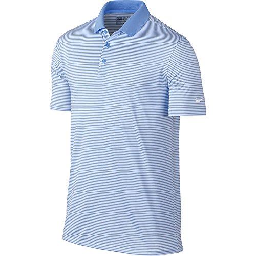 ni Stripe Polo (University Blue/White) (2XL) ()