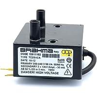 Transformador de encendido BRAHMA TC2SVCA ED 50%/2min 30mA