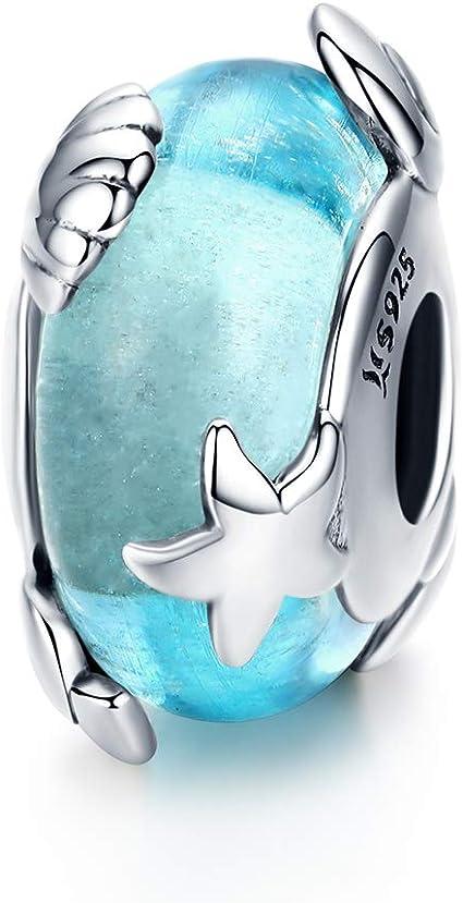 abalorio plata estrella