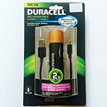 Duracell - Pro Power Bank Portable Charger - Black/Copper