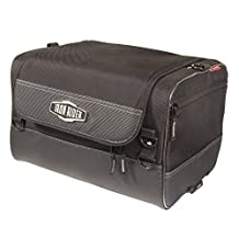 Iron Rider By Dowco - Reinforced Motorcycle Overnight Bag - 2 Year Limited Warranty - Reflective - Water Resistant - Black - Up To 20L Capacity [ 50126-00 ]
