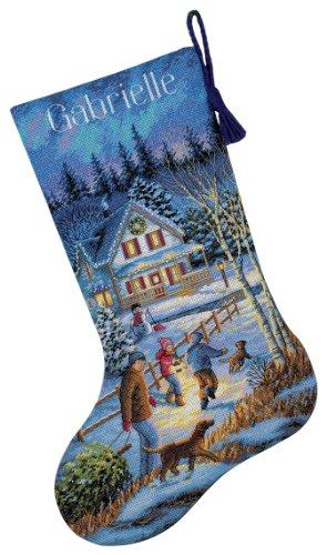 counted cross stitch christmas stocking kits