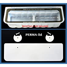 PERMA-lid & BAG-it Combo Waste Receptacle Replacement System for Littermaid Litter Box