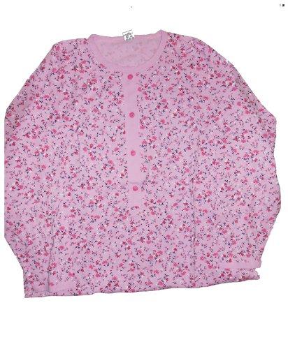 Mauz «chemise de nuit pour femme motifs fleurs rose