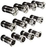 Hardinge 16C 12 Piece Round Smooth Collet Set, Size Range from 1/4'' to 1-5/8'', 1/8'' Increment
