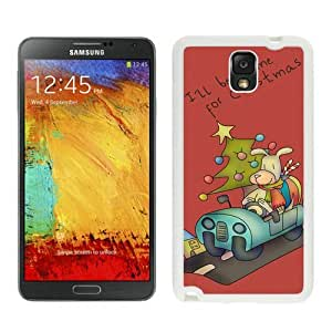 Personalize offerings I'll be home for Christmas White Samsung Galaxy Note 3 Case 1