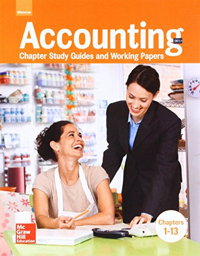 Accounting: Chapter Study Guides & Working Papers, Chapters 1-13 (GUERRIERI: HS ACCTG)