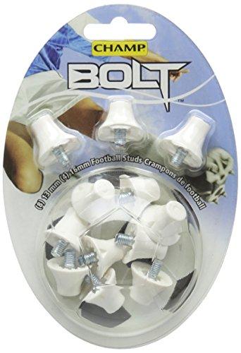 Blanc Bolt Footballe De Champ Goujons IxXpw80qB
