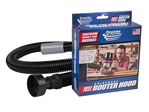 ONEIDA AIR SYSTEMS AXH000200 Universal Router Hood and Dust Extraction Hose