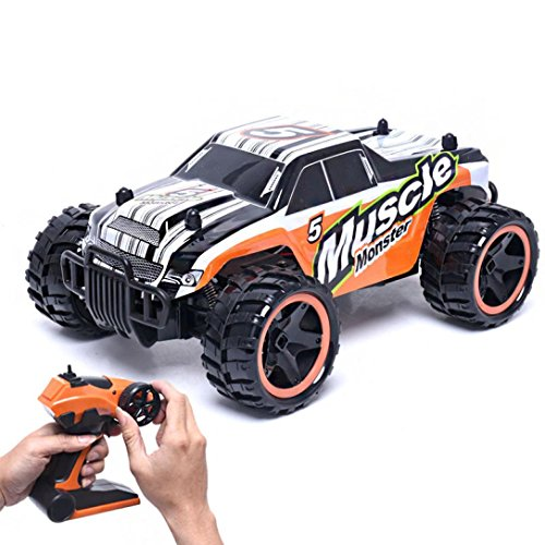 Gotd 2.4G High Speed Monster Truck Remote Control Car 83599, Orange by Goodtrade8