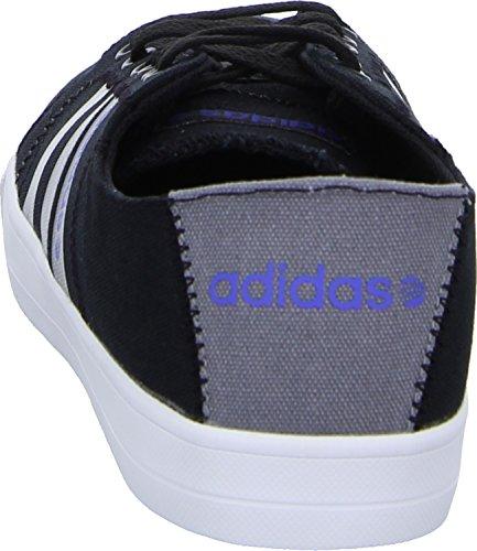 Skool Uomo Adidas Lacci Scarpa Semi nero Vs Nero F97796 Lino nero dOnftpn