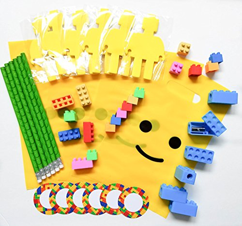 pre-assembled-54-piece-building-blocks-bricks-theme-favors-with-mini-figure-cutout-sticky-notepad-pe