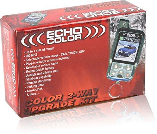 Audiovox ECHOCOLOR 9/16D X 1-3/8W X 3-1/4H Auto Alarm Systems ()