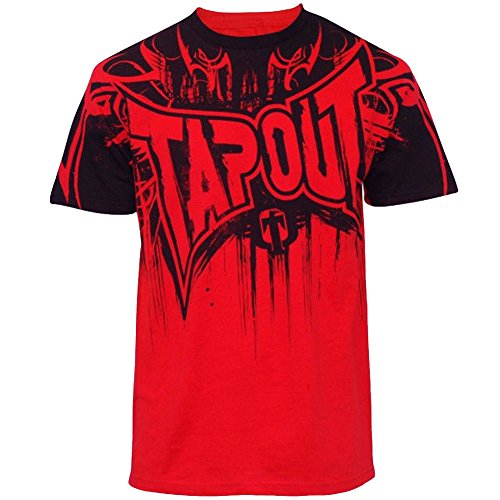 Tapout Dark Dream Premium Adult T-shirt (XX-Large, Red)