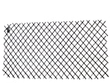 Master Garden Products Willow Expandable Trellis Fence, 72 by 48-Inch