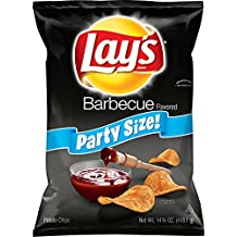 Lay's Barbecue Flavored Potato Chips, Party Size! (14.75 Ounce)