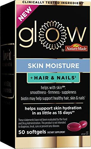 Glow skin moisture + hair & nails 50 softgels
