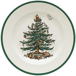 Spode Christmas Tree 10-1/2-Inch Dinner Plates Set of 4  sc 1 st  Amazon.com & Amazon.com: Used - Dinner Plates / Plates: Home u0026 Kitchen