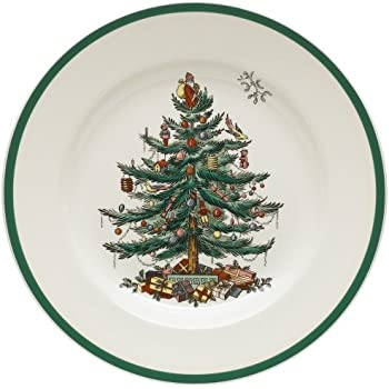 Spode Christmas Tree 10-1/2-Inch Dinner Plates Set of 4  sc 1 st  Amazon.com & Amazon.com: Nutcracker Christmas Dinner Plates 8ct: Kitchen u0026 Dining