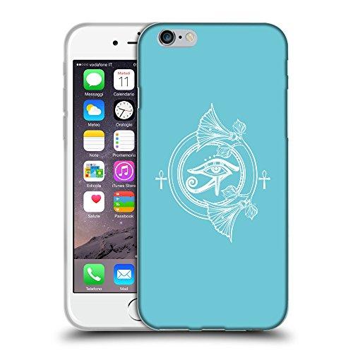 "GoGoMobile Coque de Protection TPU Silicone Case pour // Q09780627 Ra horus 2 Cyan // Apple iPhone 6 PLUS 5.5"""