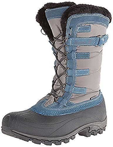 Kamik Women's Snowvalley Snow Boots Charcoal 6 & Toe warmers B