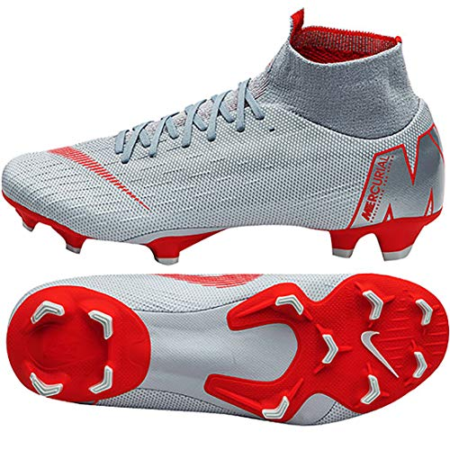 Unisex Adulto Wolf 060 6 Platinum Deporte Crimson Lt Superfly FG Multicolor Nike Pure Pro de Grey Zapatillas 840aqx
