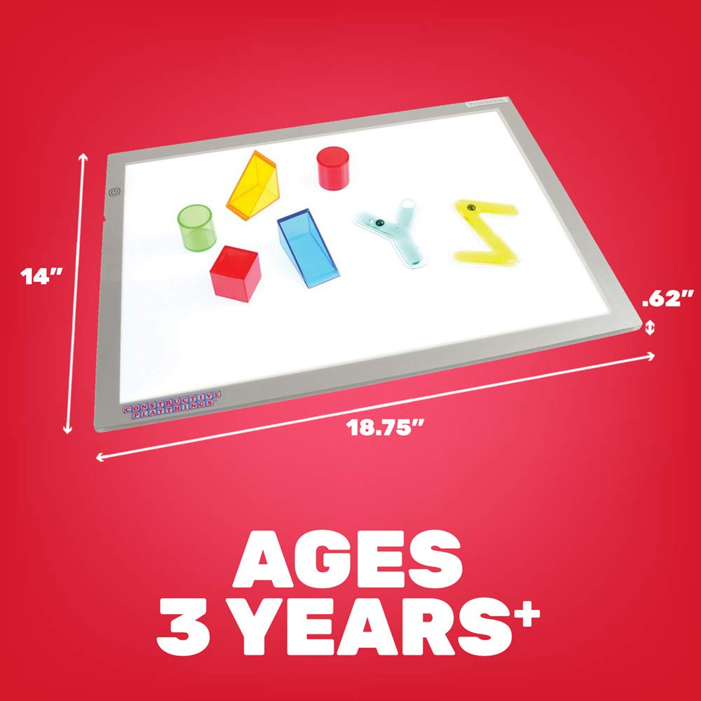 Constructive ultra birght led light panel for kids