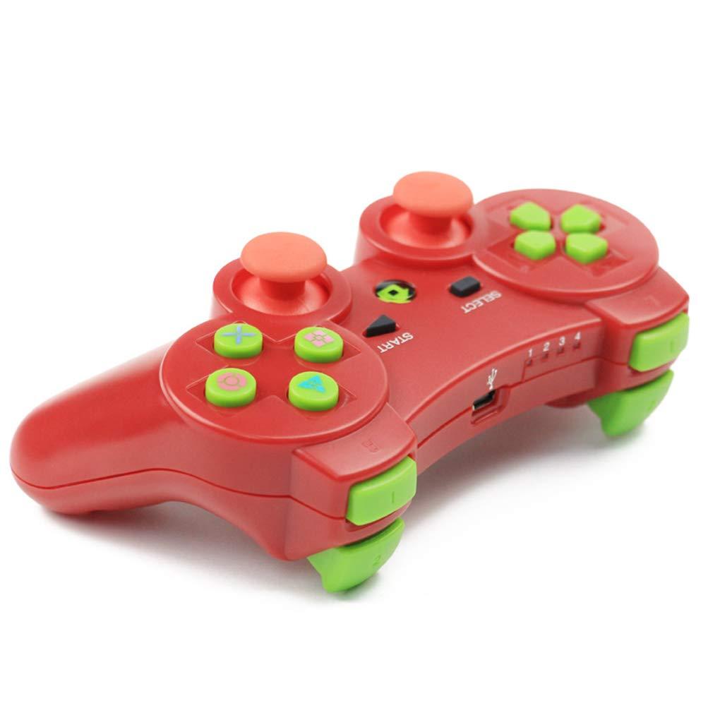 F-blue Controlador inal/ámbrico Bluetooth Wireless Juego Joystick Gamepad para PS3 Videojuegos Handle Joystick