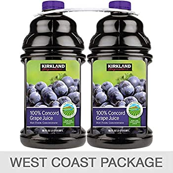 Kirkland 100% Concord Grape Juice