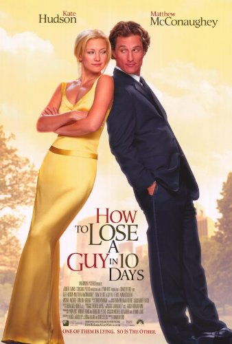 How to Lose a Guy in 10 Days 27 x 40 Movie Poster - Style A