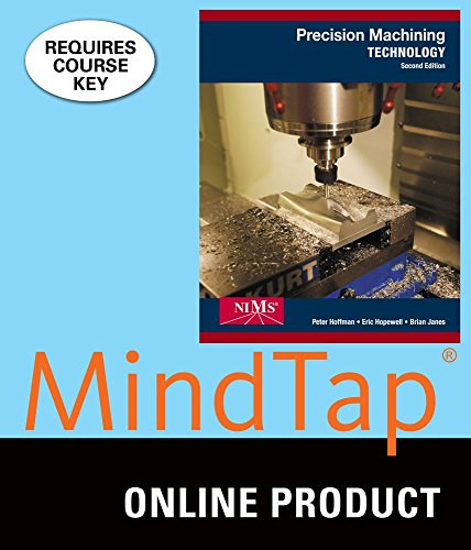 Mindtap Mechanical Engineering For Hoffman Hopewell Janes Precision Machining Technology Nims Right Skills Now  2Nd Edition