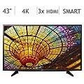 """LG 4K Smart UHD LED TV 120 Hz, 43"""" (Refurbished)"""