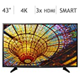 43'' Class 4K Ultra HD Smart LED LCD TV 43UH610A
