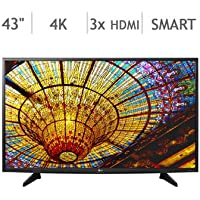 43 Class 4K Ultra HD Smart LED LCD TV 43UH610A