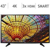 43 Class 4K Ultra HD Smart LED LCD TV 43UH610A