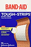 Best Adhesive Bandages - Band-Aid Brand Adhesive Bandages, Tough-Strips, Extra Large Review