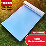 SSDXY Large Yoga Mat for Pilates Stretching Home