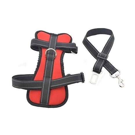 YANODA Mascotas Cinturón De Seguridad For Perros Seguridad del ...