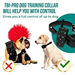 [Upgraded 2020] Dog Training Collar with Remote - Shock Collar for Dogs Range 1600 feet, Vibration Control, Rechargeable Bark E-Collar - IPX7 Waterproof for Small, Medium, Large Dogs, All Breeds 15