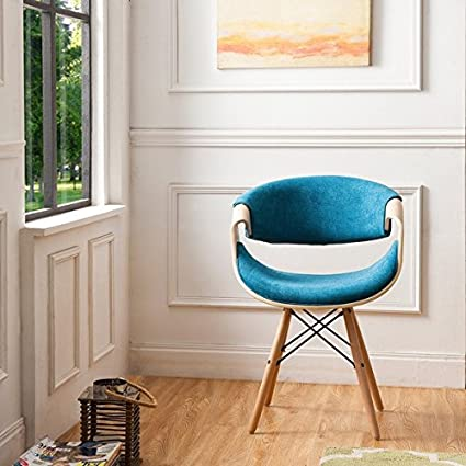 Excellent Corvus Adams Contemporary Teal Blue Velvet Accent Chair Gamerscity Chair Design For Home Gamerscityorg
