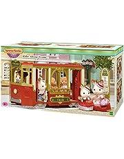 Sylvanian Families Ride Along Tram Playset Toy