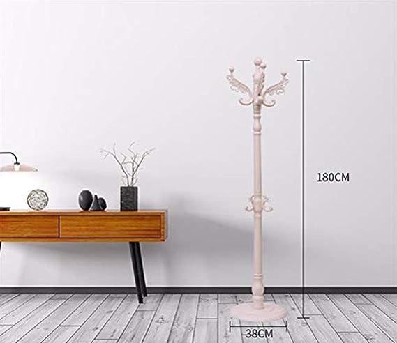 Amazon.com: TYM-JKH Hanger Simple White Coat Rack Floor ...