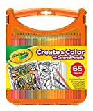 Crayola Create & Color with Colored Pencils, Travel Art Set, Great for Kids, Ages 4, 5, 6, 7, 8