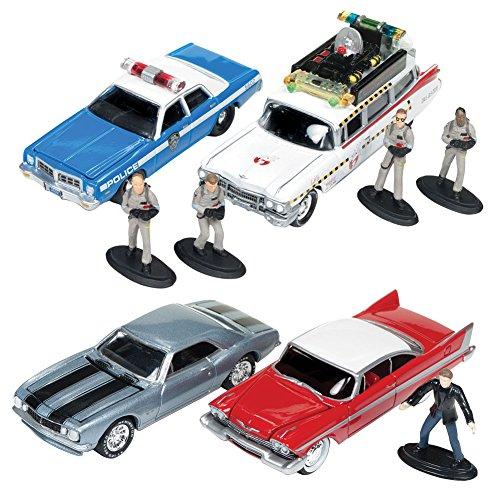 (Set) Ghostbusters & Christine Movie LTD Edition Die Cast Car Kit w/ Diorama